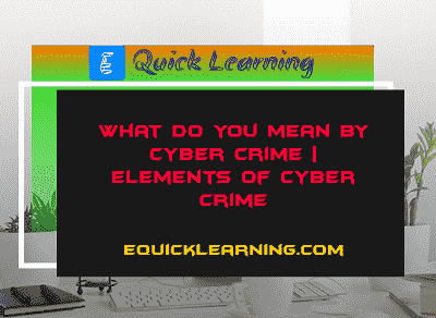 cyber crime min