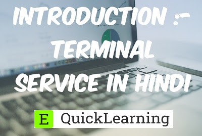 What is Terminal service Introduction & its Architecture in Hindi?