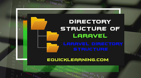 directory structure of laravel