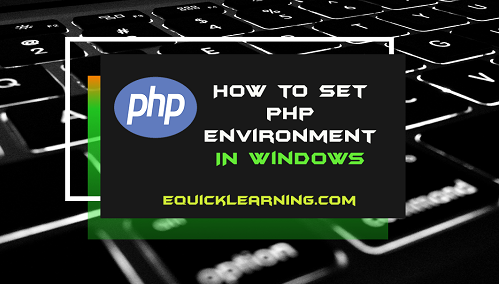 How to Set PHP Environment in Hindi | Set PHP Path
