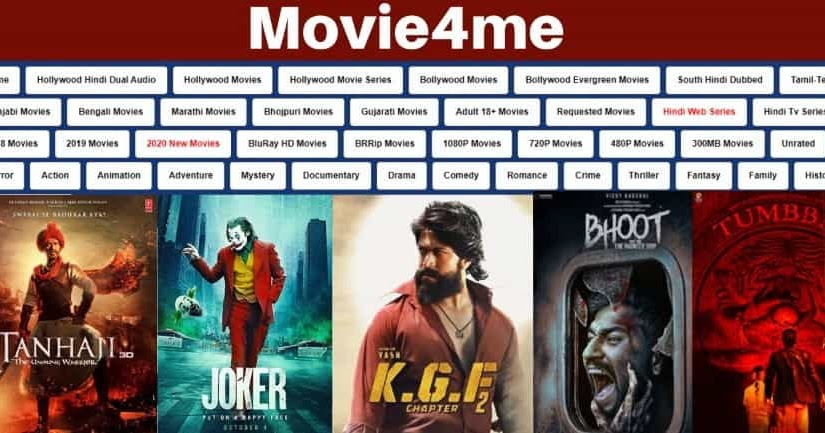 Movie4me 2020– Download Free Latest Bollywood, Hollywood, Telugu Movies